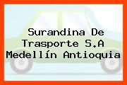 Surandina De Trasporte S.A Medellín Antioquia