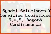Sysdel Soluciones Y Servicios Logísticos S.A.S. Bogotá Cundinamarca