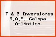 T & B Inversiones S.A.S. Galapa Atlántico