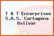 T & T Enterprises S.A.S. Cartagena Bolívar
