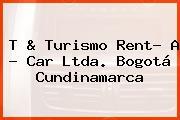 T & Turismo Rent- A - Car Ltda. Bogotá Cundinamarca