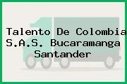 Talento De Colombia S.A.S. Bucaramanga Santander