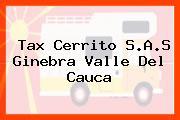 Tax Cerrito S.A.S Ginebra Valle Del Cauca
