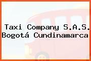 Taxi Company S.A.S. Bogotá Cundinamarca