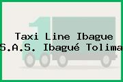 Taxi Line Ibague S.A.S. Ibagué Tolima