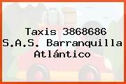 Taxis 3868686 S.A.S. Barranquilla Atlántico