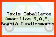 Taxis Caballeros Amarillos S.A.S. Bogotá Cundinamarca