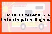 Taxis Furatena S A Chiquinquirá Boyacá