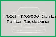 TAXXI 4209000 Santa Marta Magdalena