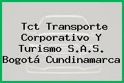 Tct Transporte Corporativo Y Turismo S.A.S. Bogotá Cundinamarca