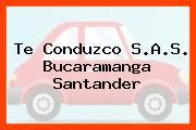 Te Conduzco S.A.S. Bucaramanga Santander