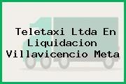 Teletaxi Ltda En Liquidacion Villavicencio Meta