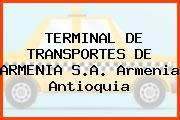 TERMINAL DE TRANSPORTES DE ARMENIA S.A. Armenia Antioquia