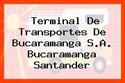 Terminal De Transportes De Bucaramanga S.A. Bucaramanga Santander