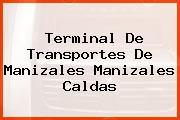 Terminal De Transportes De Manizales Manizales Caldas