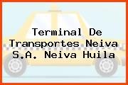 Terminal De Transportes Neiva S.A. Neiva Huila