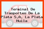 Terminal De Trasportes De La Plata S.A. La Plata Huila