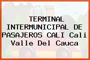TERMINAL INTERMUNICIPAL DE PASAJEROS CALI Cali Valle Del Cauca