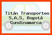 Titán Transportes S.A.S. Bogotá Cundinamarca
