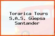 Torarica Tours S.A.S. Güepsa Santander