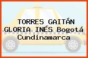 TORRES GAITÁN GLORIA INÉS Bogotá Cundinamarca