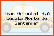 Tran Oriental S.A. Cúcuta Norte De Santander