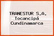 TRANESTUR S.A. Tocancipá Cundinamarca
