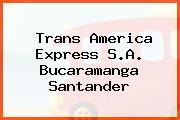 Trans America Express S.A. Bucaramanga Santander