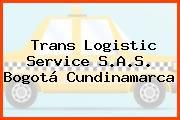 Trans Logistic Service S.A.S. Bogotá Cundinamarca