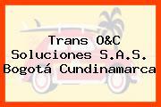 Trans O&C Soluciones S.A.S. Bogotá Cundinamarca