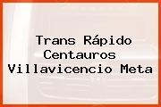 Trans Rápido Centauros Villavicencio Meta