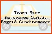 Trans Star Aerovanes S.A.S. Bogotá Cundinamarca
