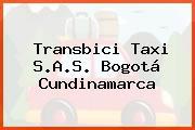 Transbici Taxi S.A.S. Bogotá Cundinamarca