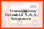 Transcaminos Colombia S.A.S. Sutatenza