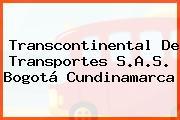 Transcontinental De Transportes S.A.S. Bogotá Cundinamarca