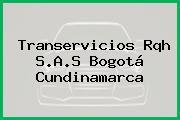 Transervicios Rqh S.A.S Bogotá Cundinamarca