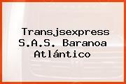 Transjsexpress S.A.S. Baranoa Atlántico