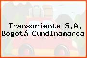 Transoriente S.A. Bogotá Cundinamarca