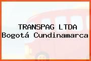 TRANSPAG LTDA Bogotá Cundinamarca