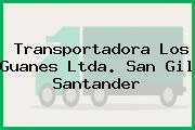 Transportadora Los Guanes Ltda. San Gil Santander