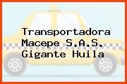 Transportadora Macepe S.A.S. Gigante Huila