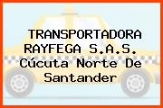 TRANSPORTADORA RAYFEGA S.A.S. Cúcuta Norte De Santander
