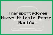 Transportadores Nuevo Milenio Pasto Nariño