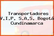Transportadores V.I.P. S.A.S. Bogotá Cundinamarca