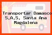 Transportar Damasco S.A.S. Santa Ana Magdalena