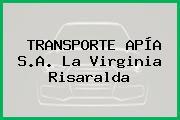 TRANSPORTE APÍA S.A. La Virginia Risaralda