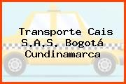 Transporte Cais S.A.S. Bogotá Cundinamarca