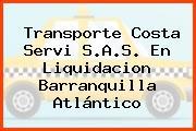 Transporte Costa Servi S.A.S. En Liquidacion Barranquilla Atlántico