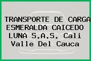 TRANSPORTE DE CARGA ESMERALDA CAICEDO LUNA S.A.S. Cali Valle Del Cauca