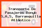 Transporte De Pasajeros Bonyb S.A.S. Barranquilla Atlántico